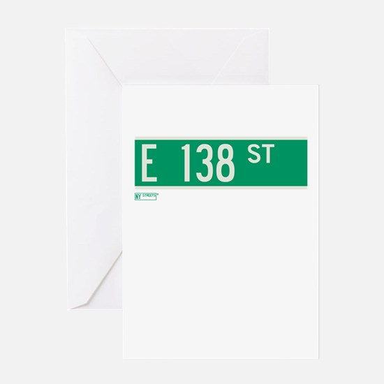 138th Street in NY Greeting Card