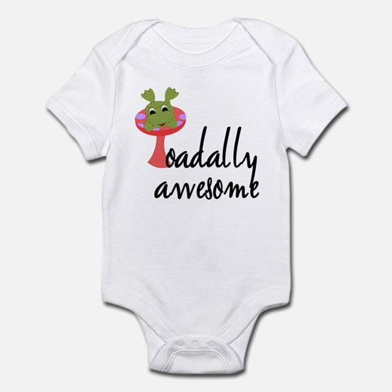 Toadally Awesome Infant Bodysuit