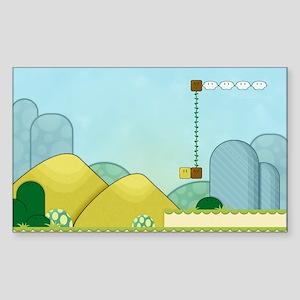 Bit Player Terrain Sticker