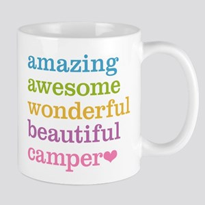 Amazing Camper Large Mugs