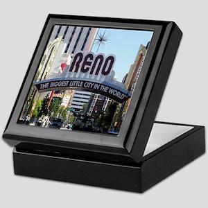 Reno Biggest Little City Keepsake Box