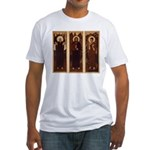 VARGA Triptych on Fitted Tshirt