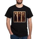 VARGA Triptych on Black Tshirt