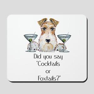 Wire Fox Terrier Martini Mousepad