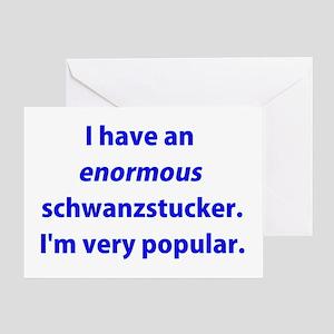 Schwanzstucker Greeting Card