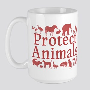 Protect Animals Large Mug