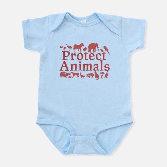 Protect Animals Infant Bodysuit