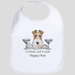 Wire Fox Terrier Happy Hour Bib
