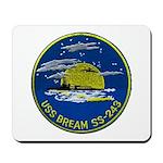 USS BREAM Mousepad