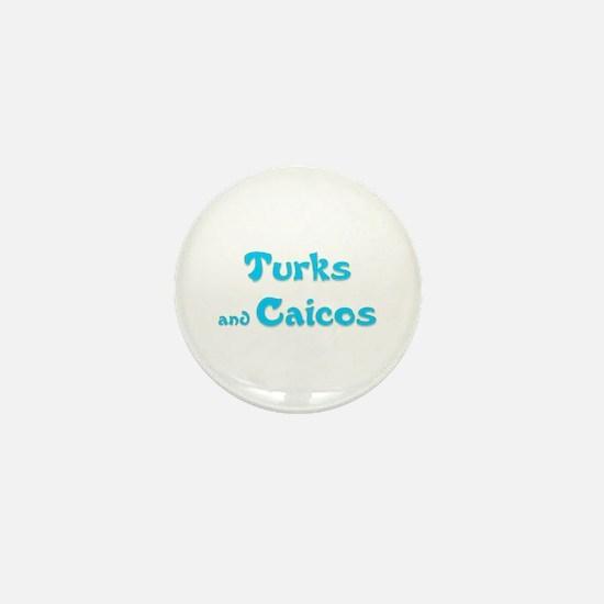 Turks and Caicos Mini Button