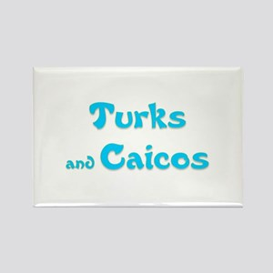 Turks and Caicos Rectangle Magnet