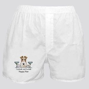 Wire Fox Terrier Happy Hour Boxer Shorts
