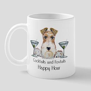 Wire Fox Terrier Happy Hour Mug