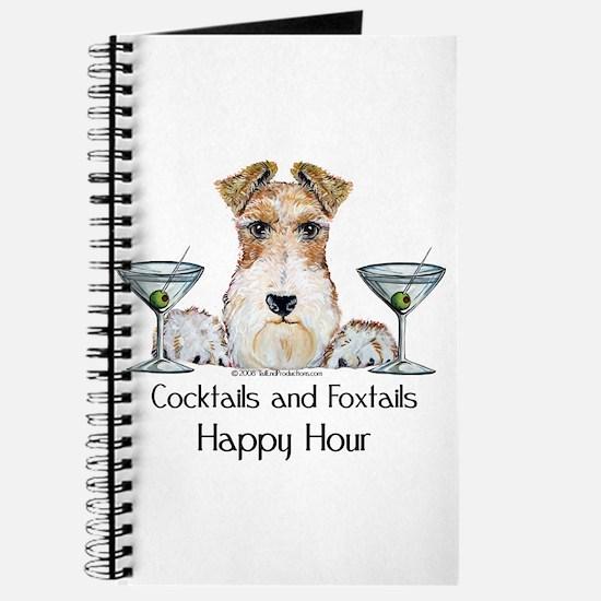 Wire Fox Terrier Happy Hour Journal