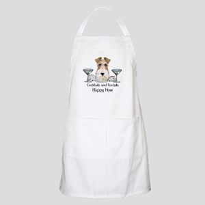 Wire Fox Terrier Happy Hour BBQ Apron