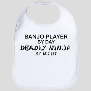 Banjo Deadly Ninja Bib