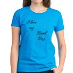 I Love My Devil Dog Women's Dark T-Shirt