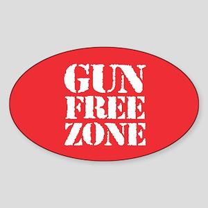 Gun Free Zone Sticker