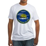 USS BREAM Fitted T-Shirt