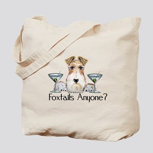 Wire Fox Terrier Pary Tote Bag