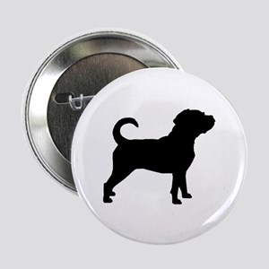 "Puggle Dog 2.25"" Button"