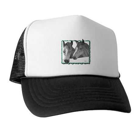 """Horses"" Trucker Hat"