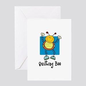 Quilting Bee Greeting Card