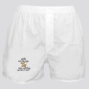 Dogs Are Like Quilts Boxer Shorts