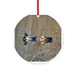 Mallards Ornament (Round)