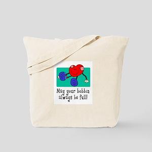 May Your Bobbin Be Full - Sew Tote Bag