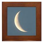 Sliver of Moonlight Framed Tile