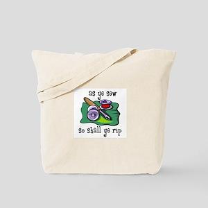 Sewing - So Shall Ye Rip Tote Bag