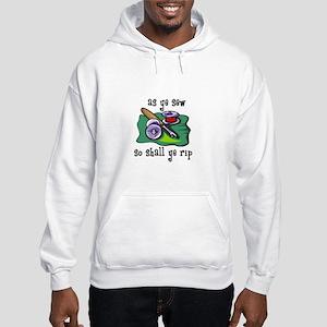 Sewing - So Shall Ye Rip Hooded Sweatshirt
