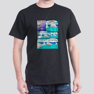 RIGHT WHALE Dark T-Shirt