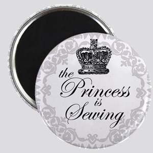 The Princess is Sewing Magnet