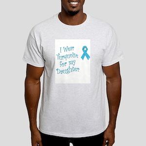 Wearing Turquoise for Awarene Light T-Shirt