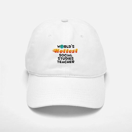 World's Hottest Socia.. (C) Baseball Baseball Cap