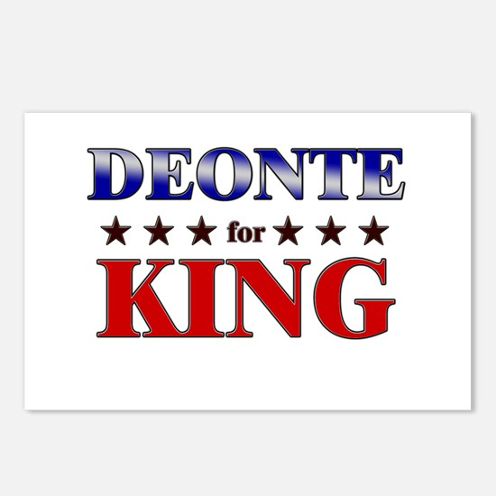 DEONTE for king Postcards (Package of 8)