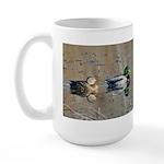Mallards Large Mug