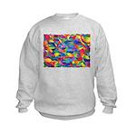 Cosmic Ribbons Kids Sweatshirt