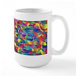 Cosmic Ribbons Large Mug