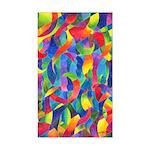 Cosmic Ribbons Rectangle Sticker