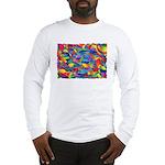 Cosmic Ribbons Long Sleeve T-Shirt