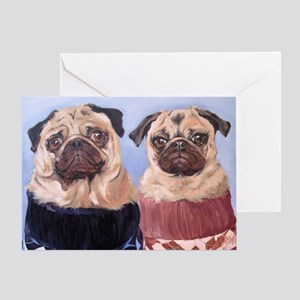 Pickles and Peaches Greeting Cards