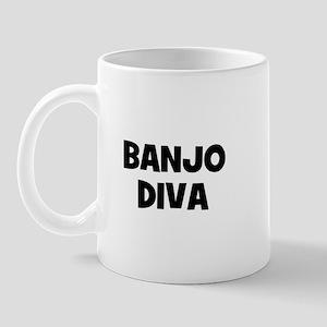 Banjo diva Mug