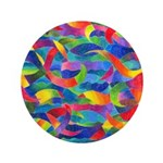"""Cosmic Ribbons 3.5"""" Button"""