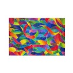 Cosmic Ribbons Rectangle Magnet (10 pack)