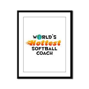 World's Hottest Softb.. (C) Framed Panel Print