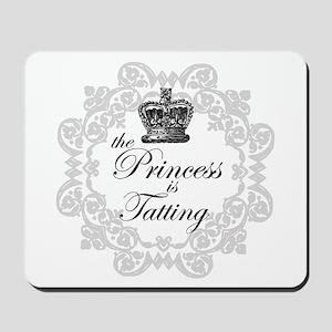 The Princess in Tatting Mousepad
