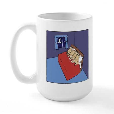 Sleeping Bunnies Large Mug